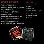 RUSH TANK MINI 5.8GHz 48CH RaceBand 0/25/200/500/800mW Switchable 20*20 Stackable FPV Transmitter VTX