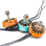 Rcinpower SMOOX 2306 Plus Brushless Motor 1880kv (Orange , Blue, Gun metal)