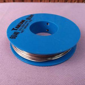 Takumi 60/40 diameter 0.8mm solder wire 焊接錫線 100g