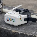 LDARC G1 5.8Ghz 48Ch FPV Goggles 4.3 Inch Video Headset Box RC Drone Racing 18650/USB Charge Support Glasses Goggle