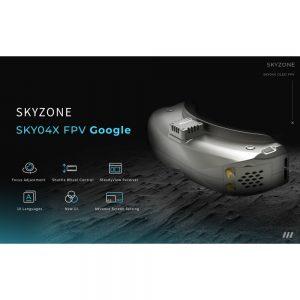 Skyzone SKY 04X OLED FPV Goggles