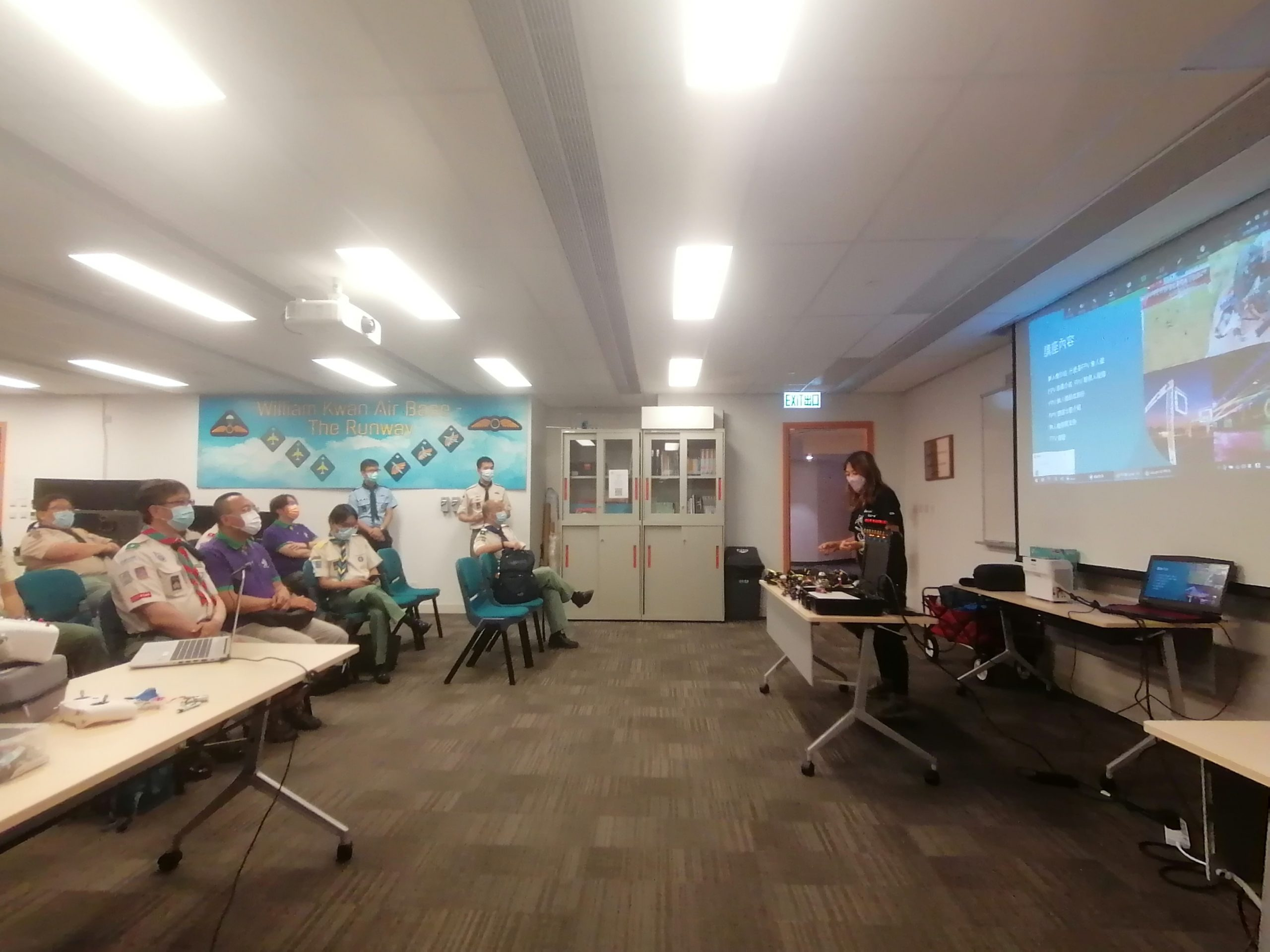 Read more about the article 2021 Scout Association of Hong Kong Aviation Sharing Event
