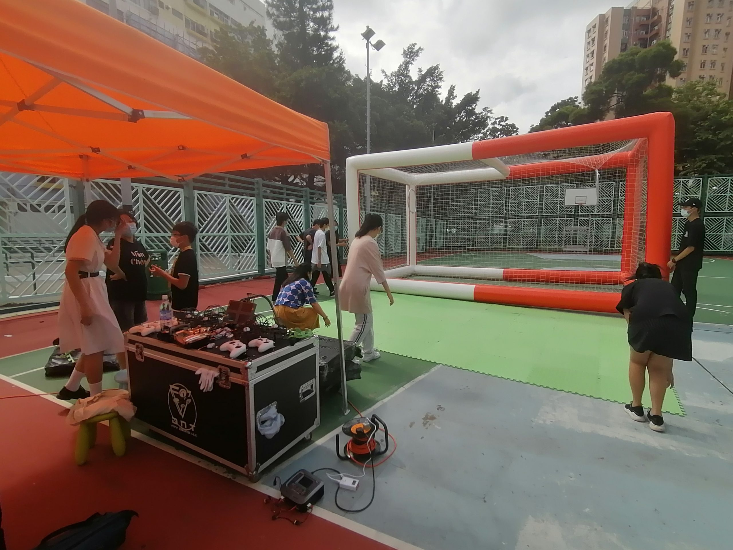 Read more about the article 2021 青協乙明 穿越Drone Soccer